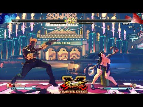 Street Fighter V: CE Laura vs Female Birdie PC Mod |