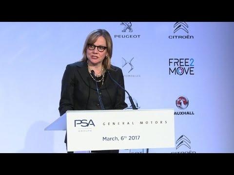 PSA announces takeover of GM's European unit