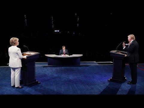 REPLAY - Présidentielle US - Trump vs Clinton : Retrouvez l'intégralité du 3e débat
