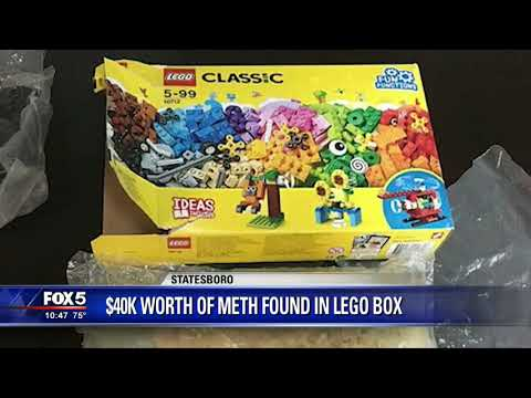 Just Jordyn - Kid in Georgia Finds $40,000 Worth Meth in Lego box