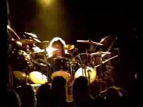 "Ted Kirkpatrick Drums solo ""Tourniquet"""