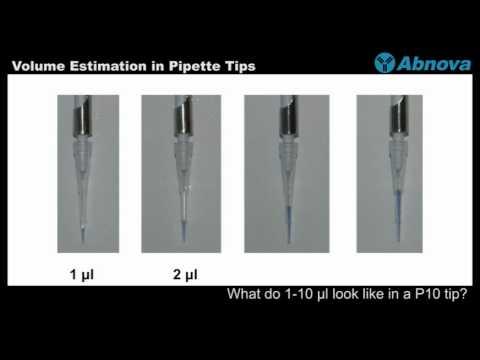 Volume Estimation In Pipette Tips