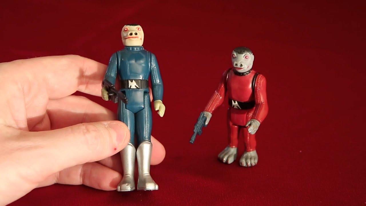 NICE 1977 vintage Hammerhead Figurine star wars loose KENNER 21 premiers