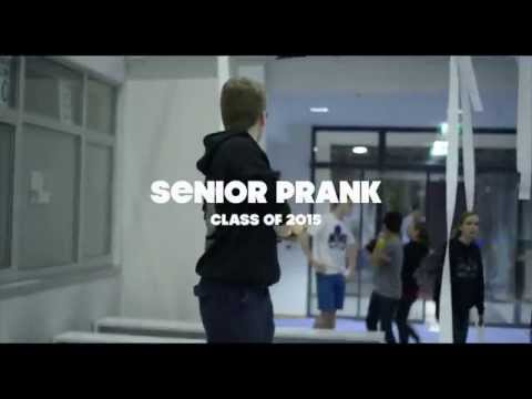 Frankfurt International School - Senior Prank 2015