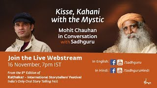 Mohit Chauhan with Sadhguru: Kisse, Kahani with the Mystic