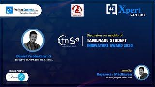 TNSI 2020 I Insights by Daniel Prabhakaran.G - Executive, TANSIM, EDII TN, Chennai I Xpert Corner