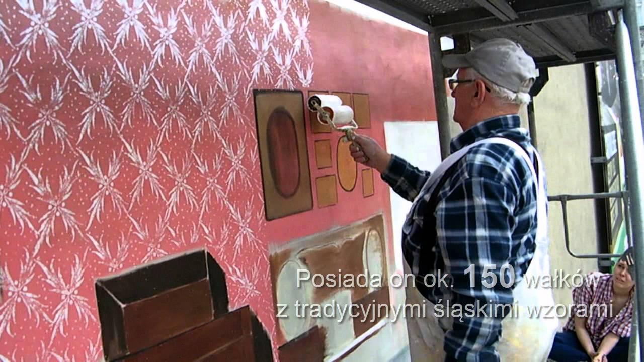 Wzory Na ścianie Malowane Wałkiem