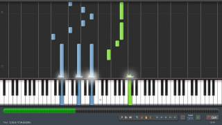 Rufus Wainwright - Hallelujah (Shrek) - Piano Tutorial (50% Speed) Synthesia + Sheet Music