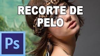 Cómo seleccionar el pelo - Tutorial Photoshop en Español por @prismatutorial