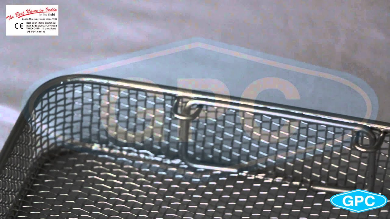 Stainless Steel Wire Mesh Trays & Wire Baskets | Manufacturer ...