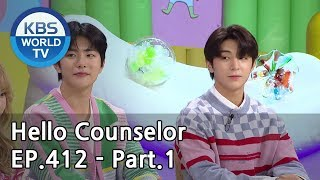Hello Counselor EP.412 Part.1 [ENG, THA/2019.05.13]