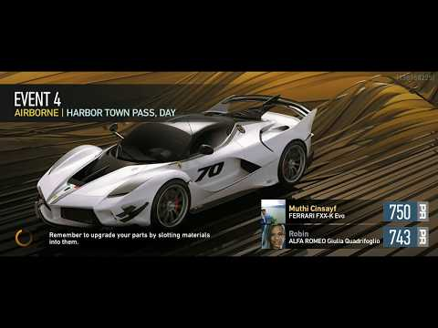 Game Need for speed No Limits #EVENT 4 AIRBORNE | HARBOR TOWN PASS, DAY