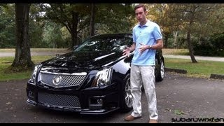 Review: 2012 Cadillac CTS-V w/ 595 HP