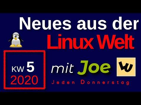 💻 Neues aus der Linux Welt - Mit Joe - KW 5-20 - Linux News Deutsch 💻 Linux Umsteiger