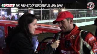 Steve Bernard en entrevue avec Caroline Champigny vendredi 26 juin 2015