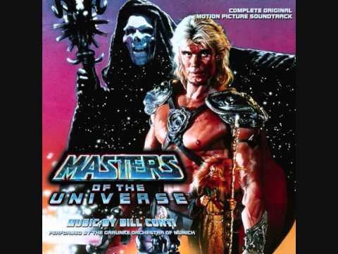 Bill Conti - Masters of the Universe - Main title & It's all mine