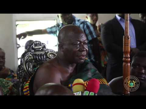 President Akufo-Addo Pays A Courtesy Call On Otumfuo Osei Tutu II online watch, and free download video or mp3 format