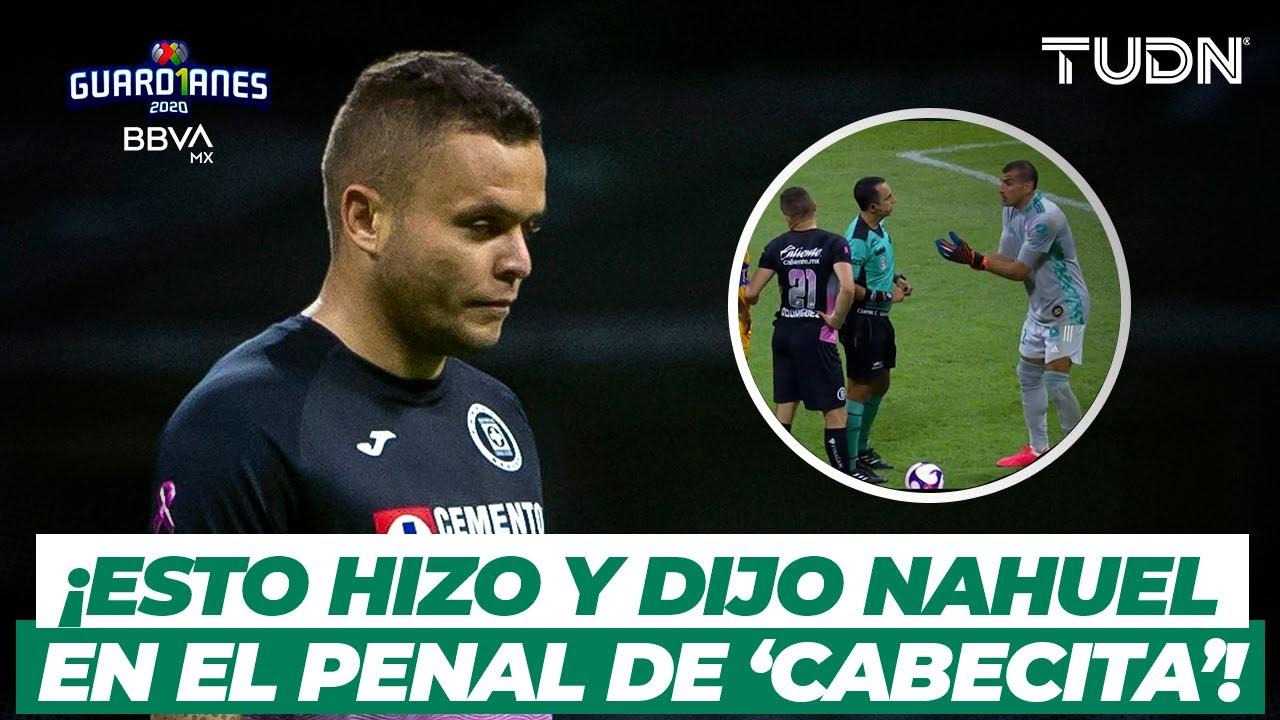 ¡Esto hizo y dijo Nahuel para que fallara 'Cabecita' el penal! | Cruz Azul vs Tigres | TUDN
