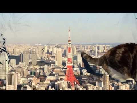 巨猫東京に現る2改 Giant Cat in Tokyo