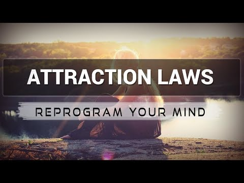 Attraction Laws affirmations mp3 music audio - Law of attraction - Hypnosis - Subliminal