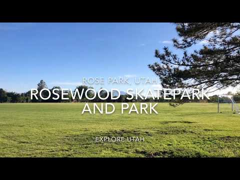 Rosewood park skatepark and park