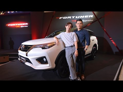 The Coup Channel : เปิดตัว NEW Toyota Fortuner TRD Sportivo