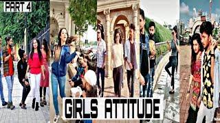 Girl's Attitude | TikTok Girl Attitude Video | Part 4 |