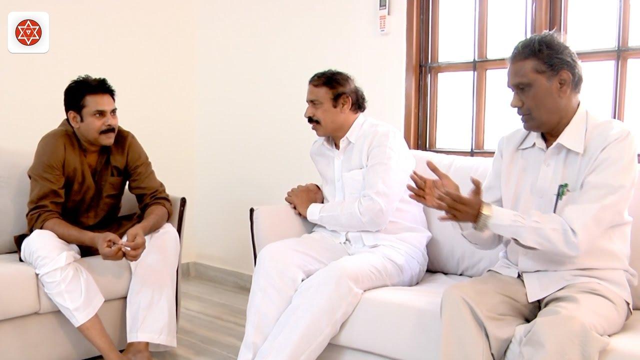 Image result for ap cpi secretary ramakrishna and pawan kalyan