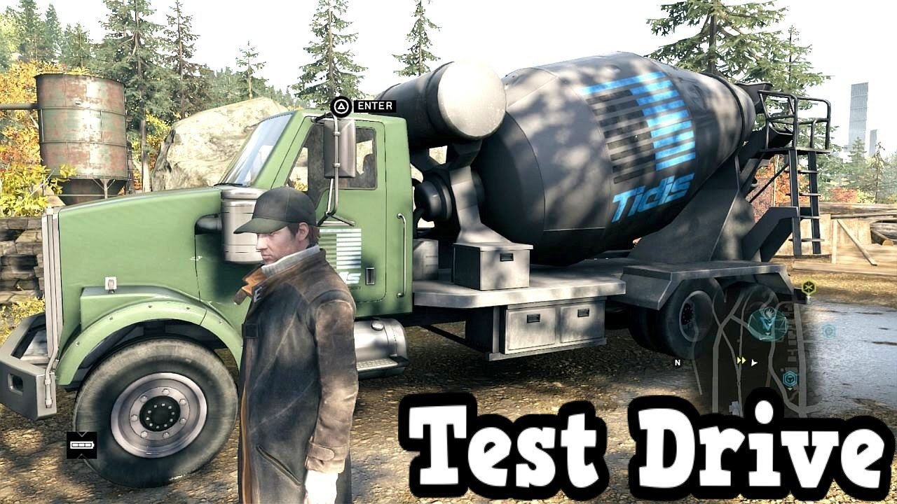 How To Get The Cement Truck Watch Dogs