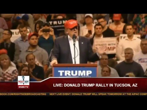 Donald Trump Rally in Tucson, AZ full speech