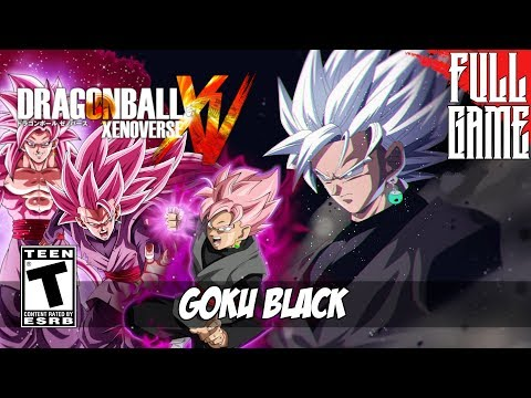 GOKU BLACK STORY MODE - DBXV MOD [PC - HD]