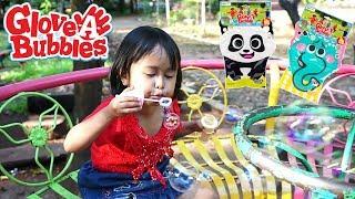 Main Gelembung Sabun lucu Glove A Bubble Seru Banget 😍 Mainan Anak Let's Play
