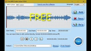 Gambar cover Best Free MP3 Cutter | Joiner Software For PC