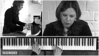 Händel, Suite in D minor HWV 428: Allegro, Daria van den Bercken HD | 24classics.com