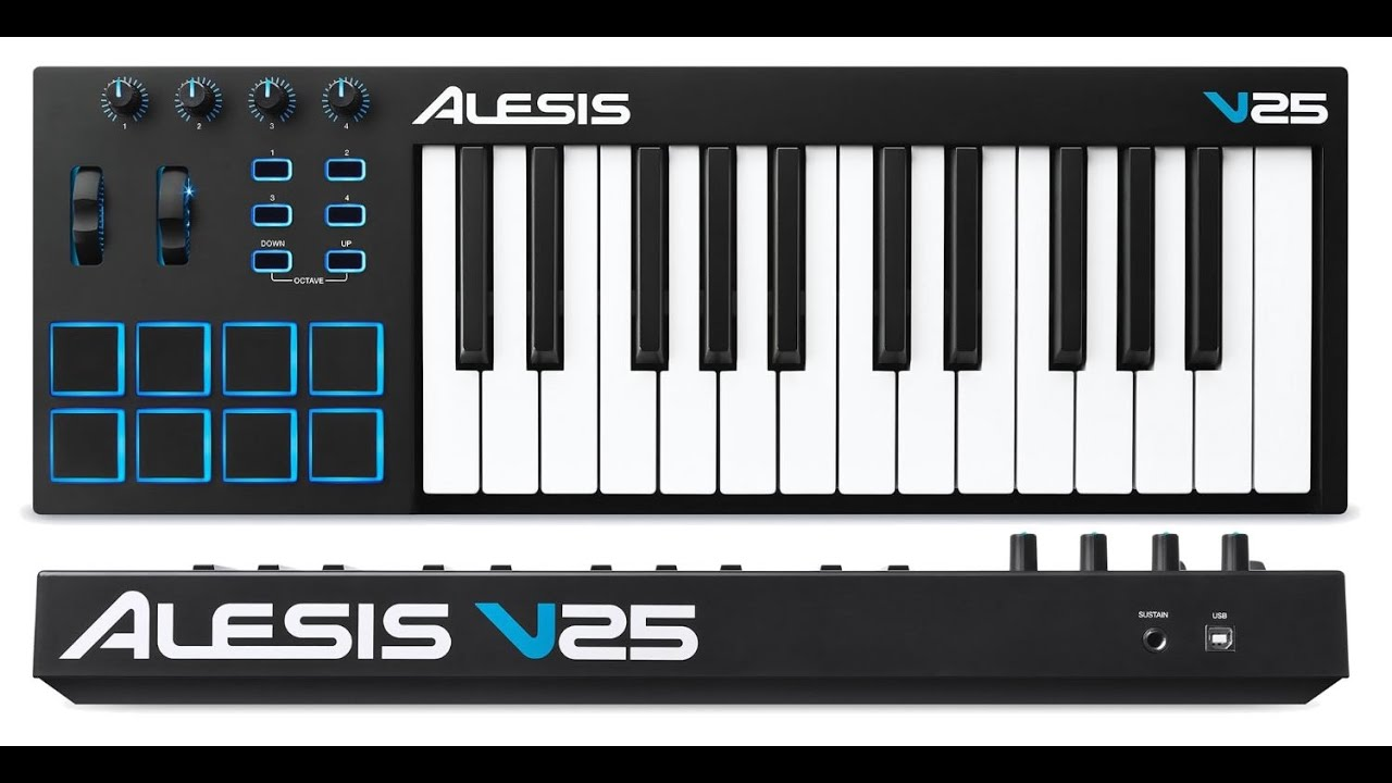 ALESIS V25 DRIVERS UPDATE