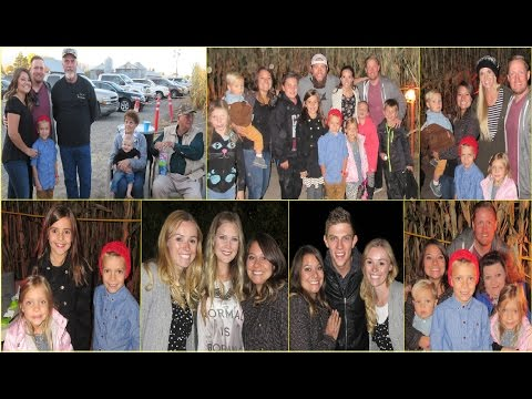 CRAZY CORN MAZE WITH ENTIRE SHAYTARD FAMILY