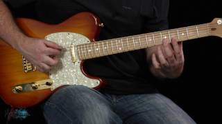 Hanging By A Moment by Life House Guitar Riff tuition by Peter Howlett. Difficulty level 3/10