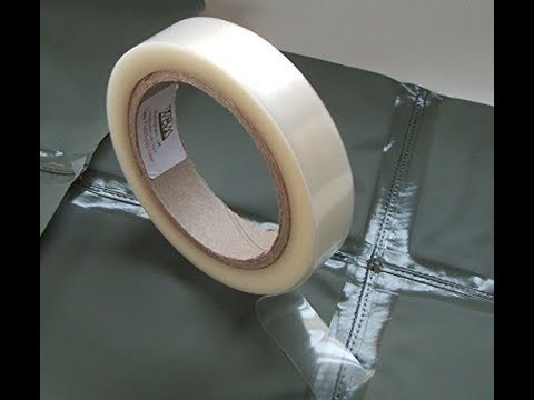 How to DIY Waterproof Tape Your Seams & How to DIY Waterproof Tape Your Seams - YouTube