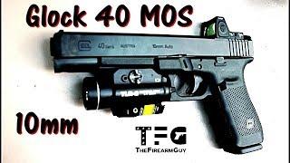 Glock 40 MOS 10mm Range Review - TheFireArmGuy
