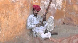 Traditional Indian Music Outside Amer Fort