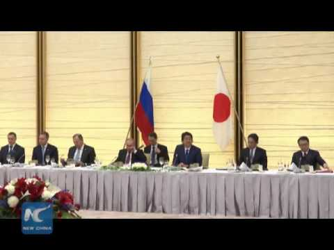 "Putin: Russia-Japan territory dispute ""not to be solved soon"""