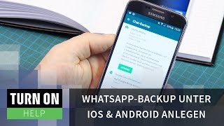WhatsApp-Backup unter iOS & Android anlegen - HELP - 4K