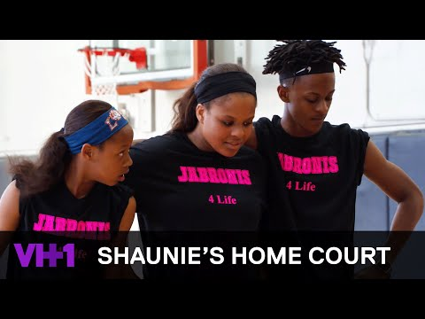 Shaunie O'Neal's Kids Face Off In A Family Basketball Game | Shaunie's Home Court