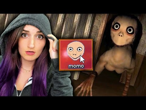 I Played The MOMO Game At 3AM... And Then This Appeared On My Computer