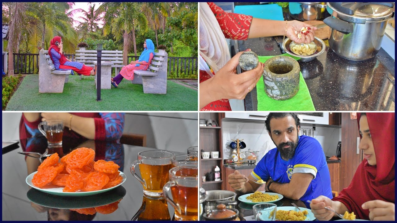 A Day in our life with family at home | My sis-in-law coming home | Ghee rice , Chicken curry