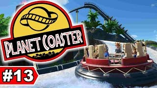 JURASSIC PARK: Wasserbahn - PLANET COASTER - LET'S PLAY #13