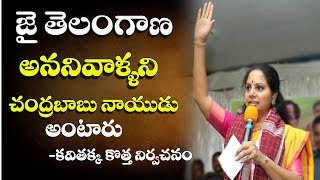 MP Kavitha Meeting At Jagtial Dist | TRS Election Campaign | Dot News