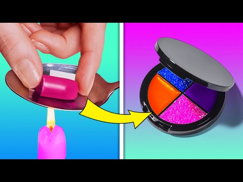 REUSE MAKEUP PRODUCTS    COOL MAKEUP HACKS AND BEAUTY TRICKS THAT MIGHT BE HELPFUL