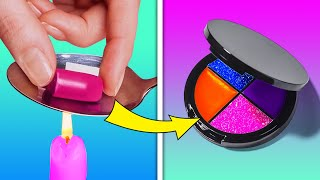 REUSE MAKEUP PRODUCTS || COOL MAKEUP HACKS AND BEAUTY TRICKS THAT MIGHT BE HELPFUL