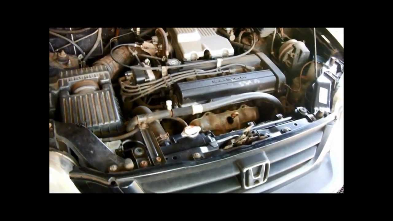 honda crv oil change youtube